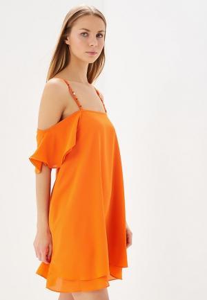 Платье Phard. Цвет: оранжевый