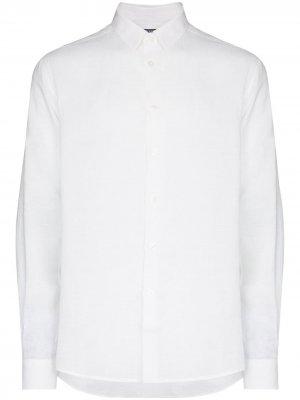 Рубашка Caroubis Vilebrequin. Цвет: белый