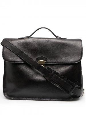 Большая сумка для ноутбука Officine Creative. Цвет: черный