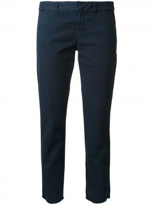 Укороченные брюки East Hampton Nili Lotan. Цвет: синий