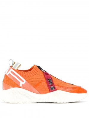 Кроссовки-носки Crosby SWEAR. Цвет: оранжевый