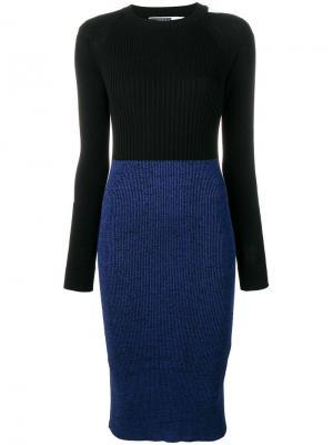 Платье Tamigi Sport Max Code. Цвет: синий