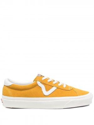Кеды Old Skool Vans. Цвет: желтый