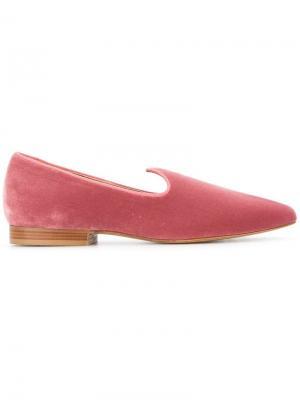 Классические слиперы Venetian Le Monde Beryl. Цвет: розовый