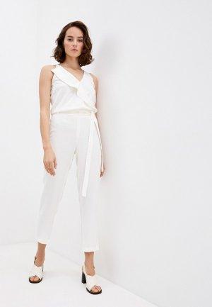 Комбинезон Trussardi Jeans. Цвет: белый