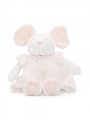 Мягкая игрушка в виде мыши Chloé Kids. Цвет: белый