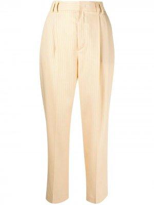 Укороченные брюки Pt01. Цвет: желтый