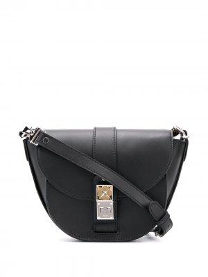 Полукруглая сумка через плечо PS11 Proenza Schouler. Цвет: черный