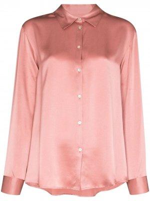 Пижамный топ London Asceno. Цвет: розовый