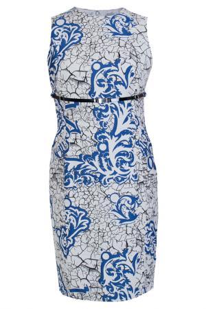 Платье Versace Collection. Цвет: цветной