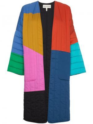 Двухстороннее пальто Mara Hoffman. Цвет: разноцветный
