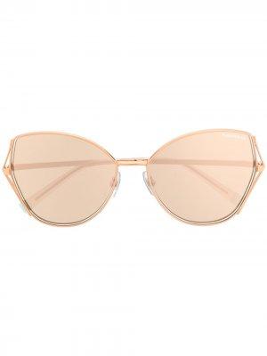 Солнцезащитные очки Butterfly Tiffany & Co Eyewear. Цвет: золотистый