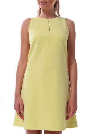 Платье Arefeva. Цвет: желтый