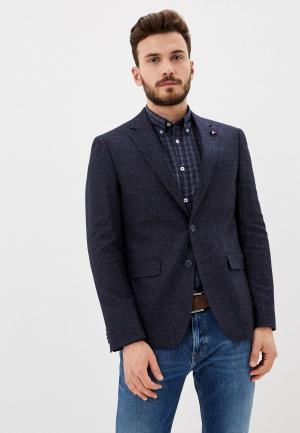 Пиджак Tommy Hilfiger. Цвет: синий