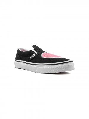 Слипоны Classic Slip-On Vans Kids. Цвет: черный