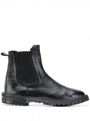 Ботинки по щиколотку MOMA. Цвет: черный