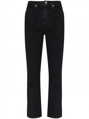 Прямые джинсы Claudia 3x1. Цвет: черный