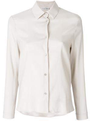 Классическая рубашка Le Tricot Perugia. Цвет: нейтральные цвета
