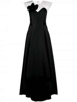 Платье Blakely с асимметричным подолом Sachin & Babi. Цвет: черный