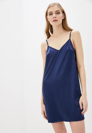 Сорочка ночная Дефиле. Цвет: бирюзовый