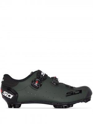 Велосипедные туфли Jarin MTB SIDI. Цвет: зеленый