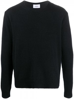 Джемпер с круглым вырезом Dondup. Цвет: черный