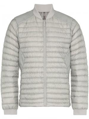 Куртка-бомбер Conduit Arc'teryx Veilance. Цвет: серый