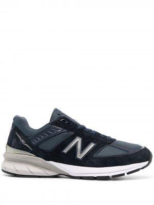 Кроссовки 990 New Balance. Цвет: синий