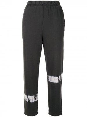 Спортивные брюки с принтом тай-дай Raquel Allegra. Цвет: серый
