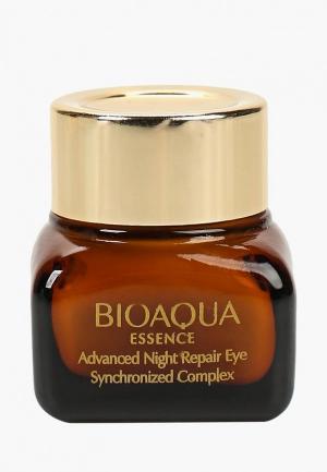Крем для кожи вокруг глаз Bioaqua. Цвет: белый