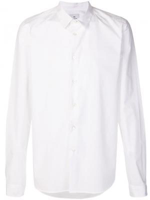 Классическая рубашка на пуговицах Ps By Paul Smith. Цвет: белый