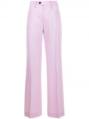 Расклешенные брюки Chloé. Цвет: розовый