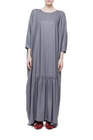 Платье Cyrille Gassiline. Цвет: графитовый