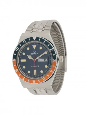 Наручные часы Q Diver TIMEX. Цвет: серебристый