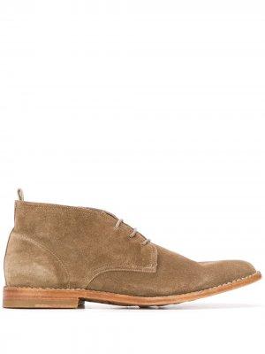 Ботинки дезерты Steple Officine Creative. Цвет: коричневый