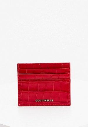 Кредитница Coccinelle. Цвет: бордовый