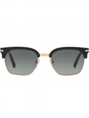 Солнцезащитные очки wayfarer Persol. Цвет: черный