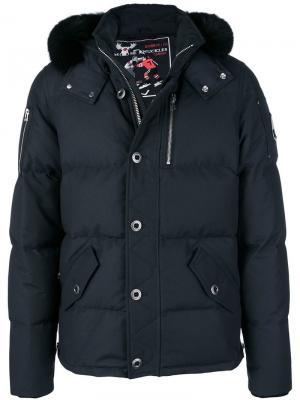 3Q puffer jacket Moose Knuckles. Цвет: синий