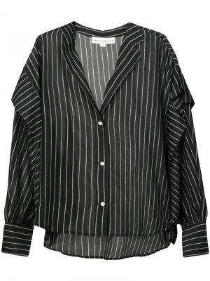 Блузка с длинными рукавами Robert Rodriguez. Цвет: черный