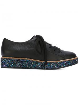 Туфли на шнуровке Boulevard Minimarket. Цвет: черный