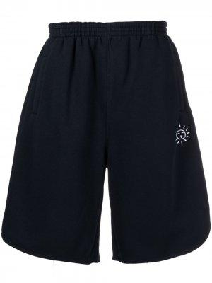Спортивные шорты с эластичным поясом Société Anonyme. Цвет: синий