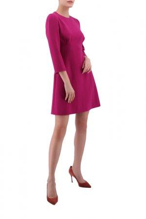 Платье Dolce & Gabbana. Цвет: бордовый