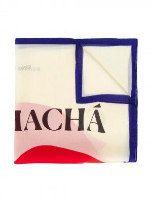 Квадратный платок с принтом Bobo Choses. Цвет: нейтральные цвета