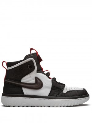 Высокие кроссовки Air  1 React Jordan. Цвет: черный