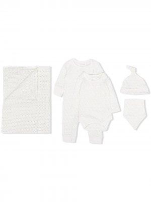 Подарочный комплект для новорожденного From Babies With Love. Цвет: белый