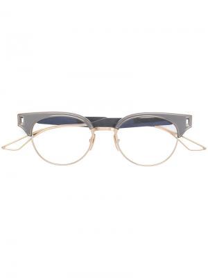 Очки Brixa Dita Eyewear. Цвет: серый