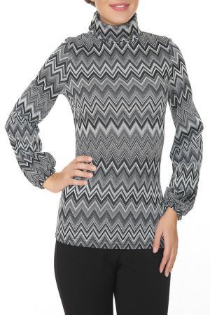 Блузка Argent. Цвет: серый