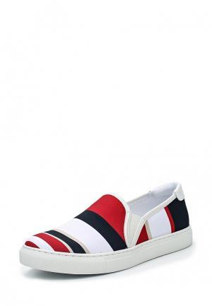 Слипоны Armani Jeans. Цвет: разноцветный