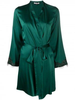 Халат Ophelia Gilda & Pearl. Цвет: зеленый