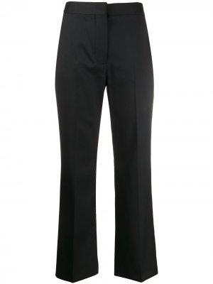 Укороченные брюки строгого кроя Stella McCartney. Цвет: черный